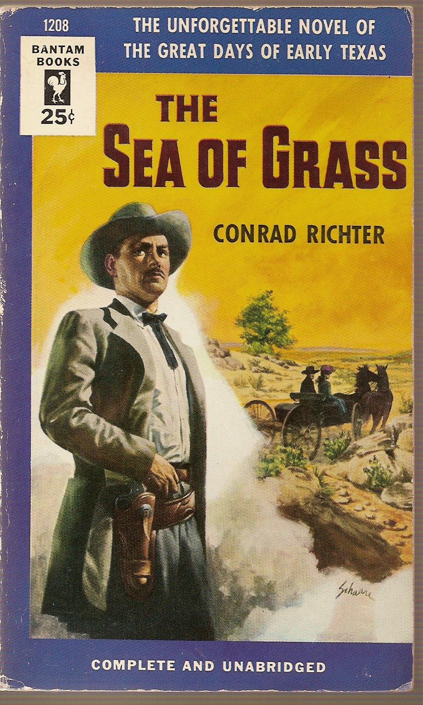 The Sea of Grass, Richter, Conrad & is, Cover