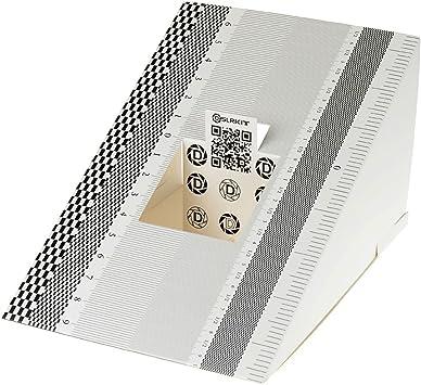 Focus Calibration Ruler Tool Alignment Folding Card für DSLRKIT Lens