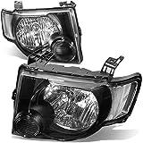 DNA Motoring HL-OH-FESC08-BK-CL1 Headlight Assembly (Driver & Passenger Side)