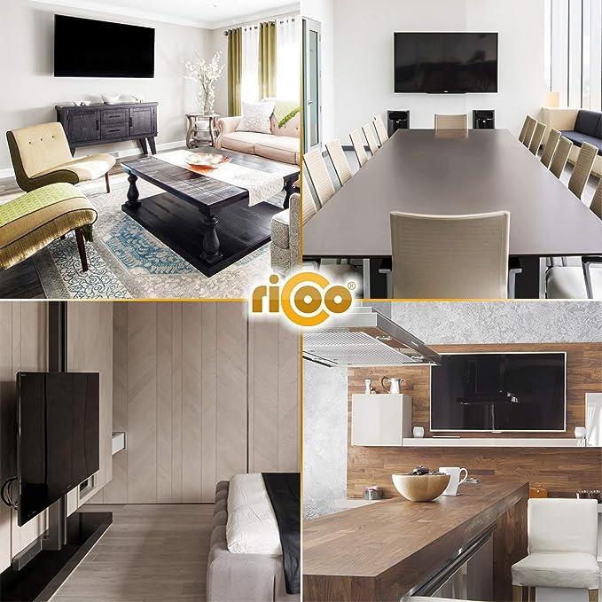RICOO R12, Soporte TV Pared, Giratorio, Inclinable, Televisión 13-32