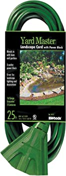 Woods 25-Foot Extension Cord with 3-Outlets
