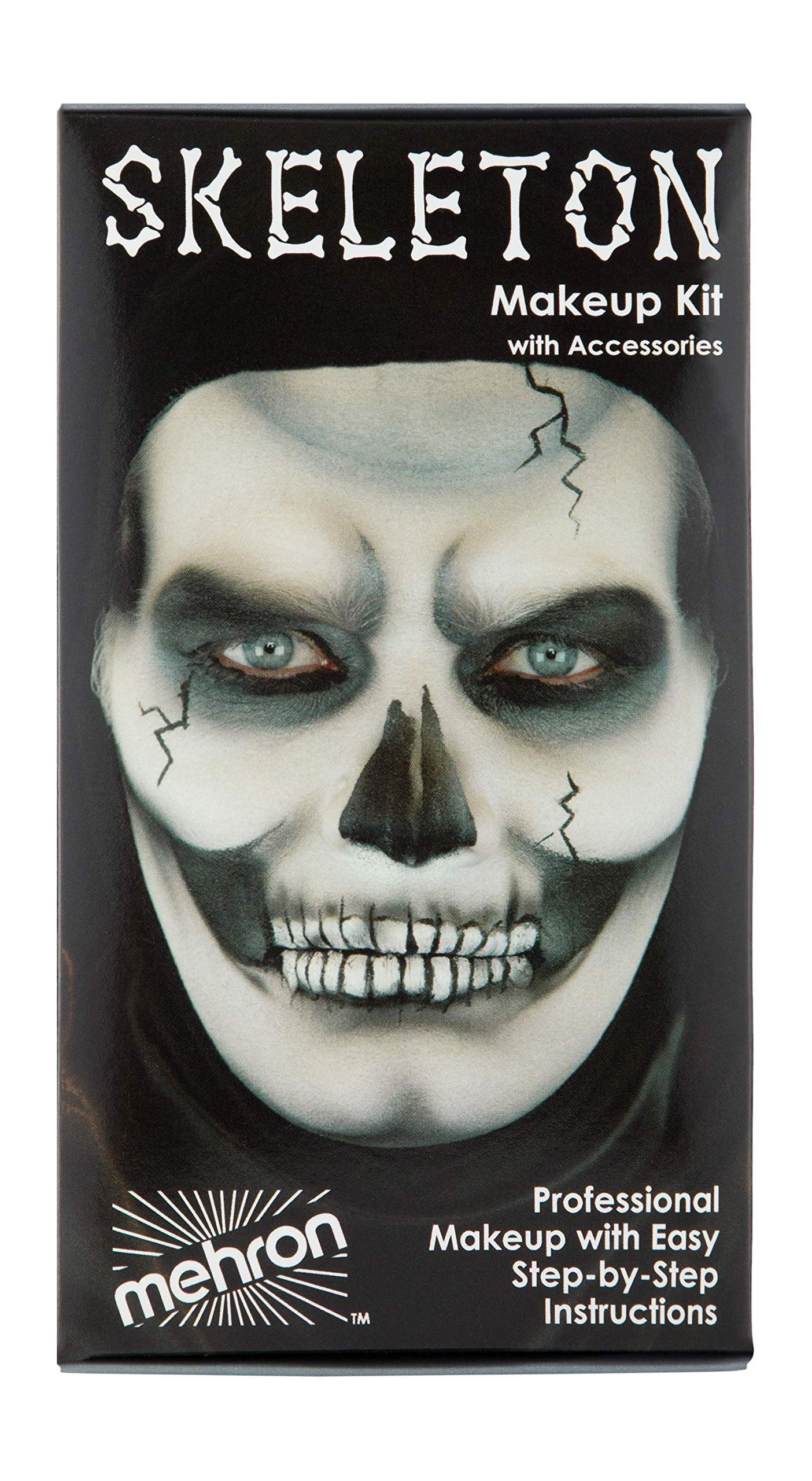 Mehron Makeup Premium Character Kit (Skeleton) by Mehron