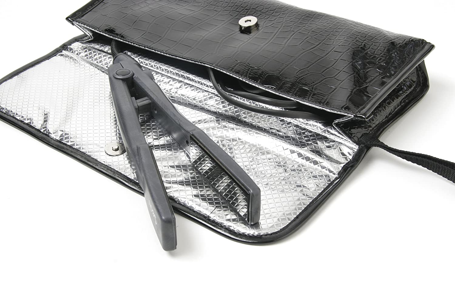 Amazon.com: Resistente al calor Flat Iron Travel Case Pouch ...