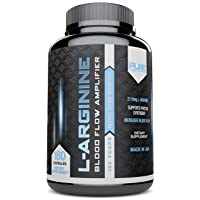 Pure Label Nutrition - L-Arginine Supplement, 2110 mg Superior Nitric Oxide Booster...