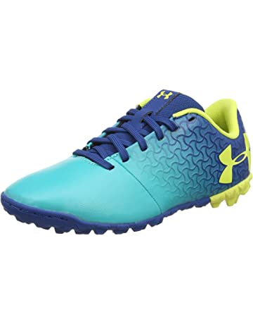 0c320e669f8d Under Armour Magnetico Select JR Turf Soccer Shoe, Teal Punch (300)/Moroccan