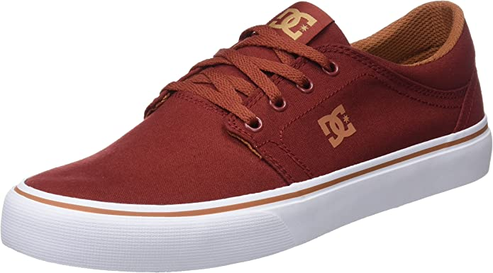 DC Shoes Trase TX Sneakers Herren Burgunderrot