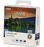 Cokin Kit M Paysage Ensemble de 3 filtres dégradés neutre avec microfibre Gris neutre