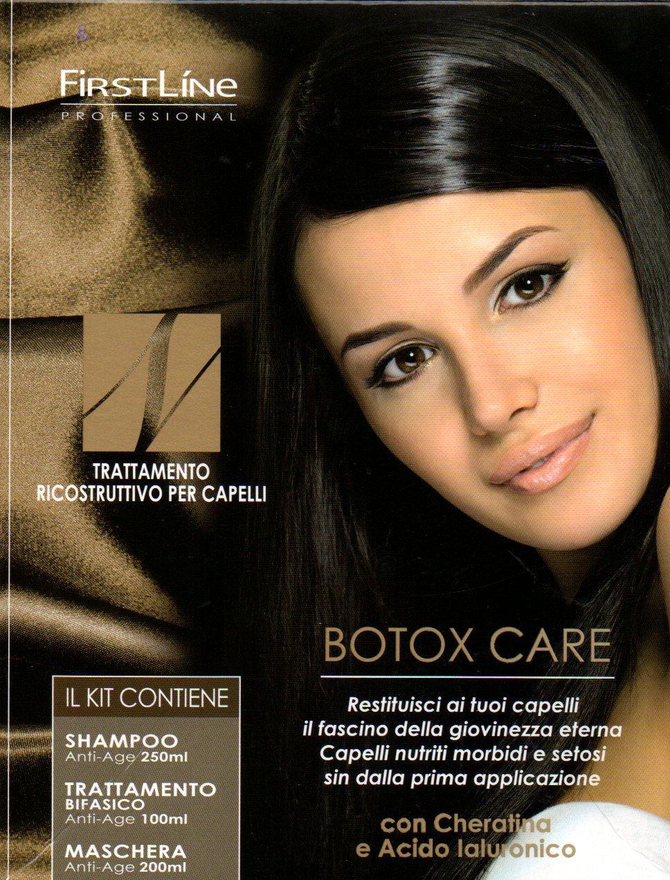 Kit Botox Jalurox Ricostruzione Per Capelli In 3 Fasi Trattamento