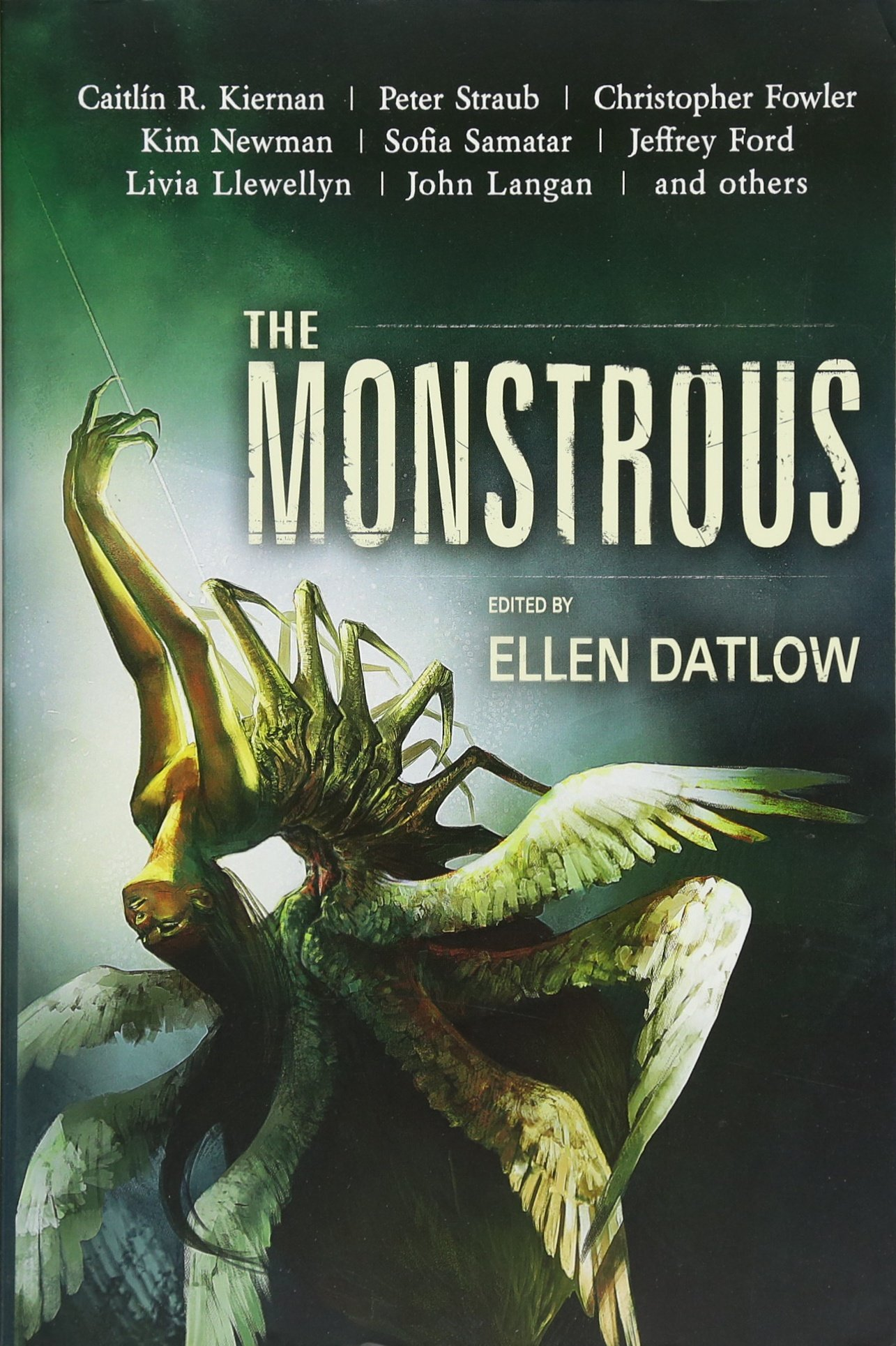 Image result for the monstrous ellen datlow book cover