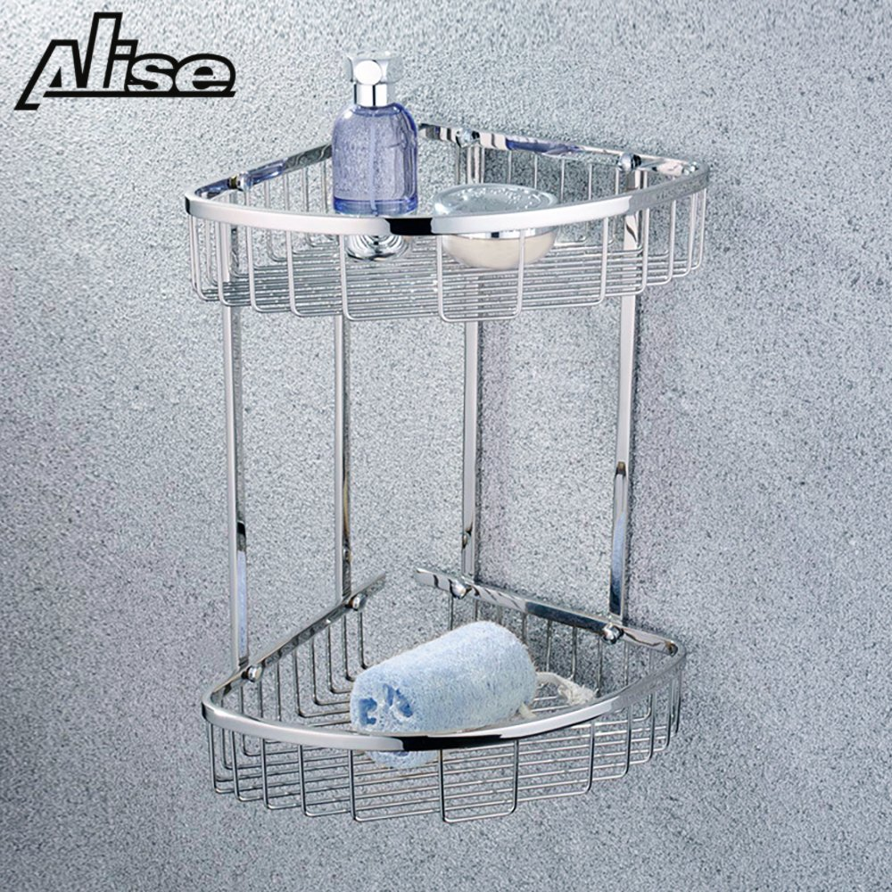 Amazon.com: Alise G7162 SUS304 Stainless Steel Bathroom Triangular ...