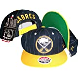 ZHATS Buffalo Sabres Pinstripe Navy Yellow Two Tone Snapback Adjustable  Plastic Snap Back Hat  989d37f610fd