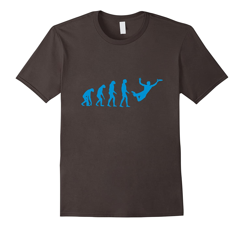 Evolution Of Man Ultimate Frisbee Shirt-Art