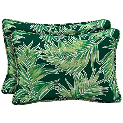 Amazon Com Arden Selections 22 X 15 Emerald Quintana Tropical