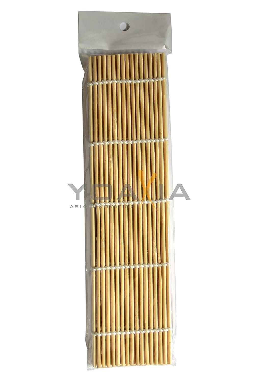 Sushimatte SUSHI - Matte - Bambus [24 x 24 cm] YOAXIA: Amazon.de ...