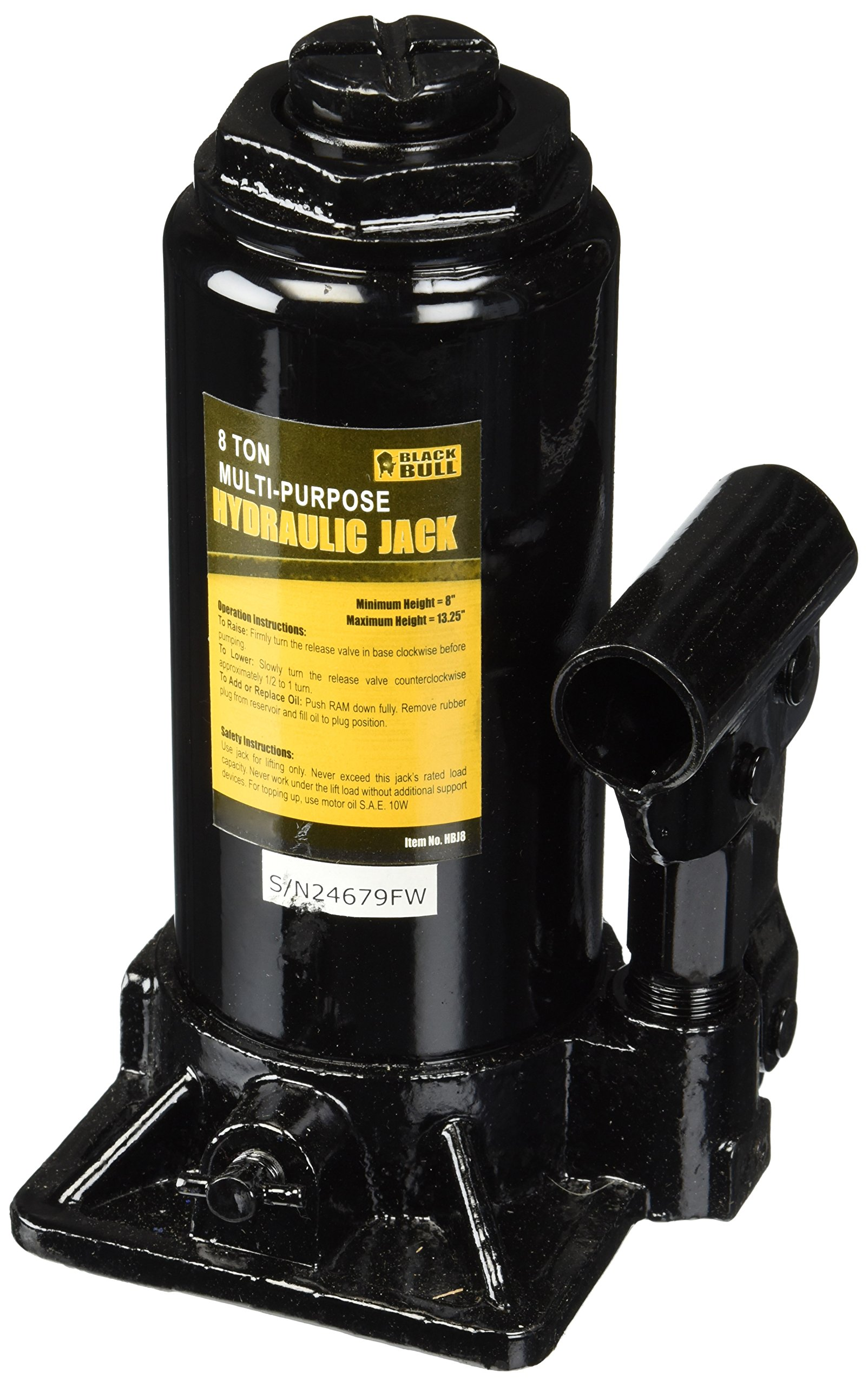 Black Bull HBJ8 8 Ton Multi-Purpose Hydraulic Jack
