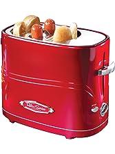 Nostalgia HDT600RETRORED Retro Series Pop-Up Hot Dog Toaster