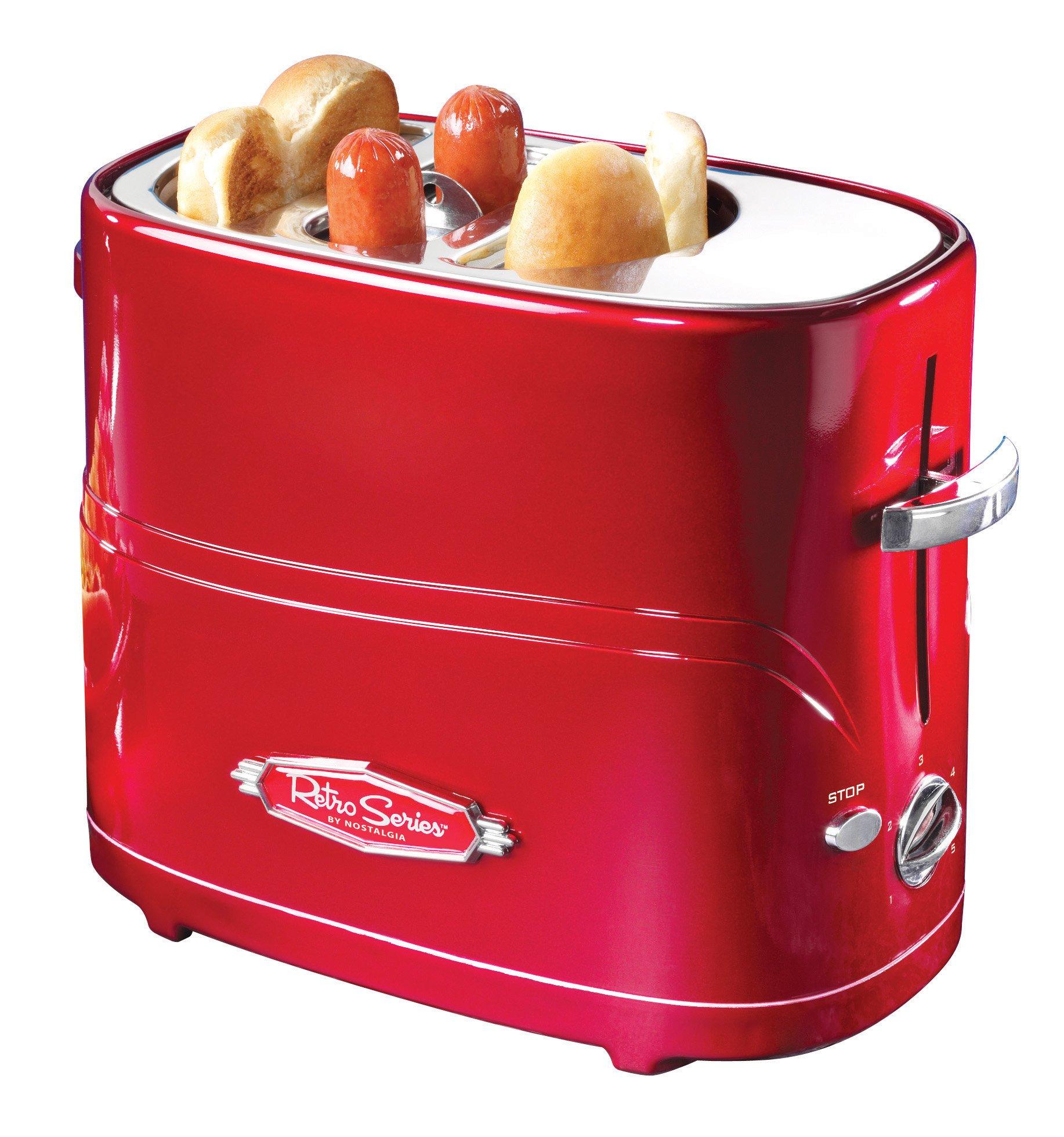 Nostalgia Retro Pop-Up Hot Dog Toaster by Nostalgia