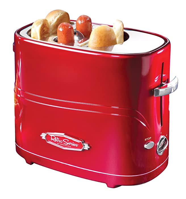 Nostalgia Retro Pop-Up Hot Dog Toaster
