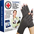 Doctor Developed Compression Gloves / Arthritis Gloves for Women & Men -Listed Class 1 Medical Device: Doctor Handbook Includ