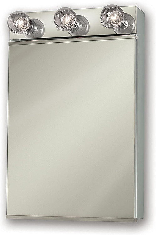 Jensen 565X Lighted Medicine Cabinet, 18