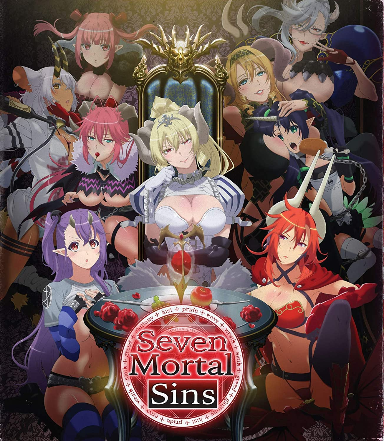 Amazon Com Seven Mortal Sins The Complete Series Blu Ray Madeleine Morris Nicole Endicott Annabel Thorne Arielle O Neal Brittany Lauda David Dave Trosko Movies Tv