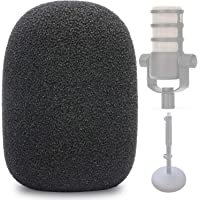 PodMic Pop Filter Foam Cover - Microphone Windscreen Wind Cover Customized for Rode PodMic Podcasting Mic to Blocks Out Plosives by YOUSHARES
