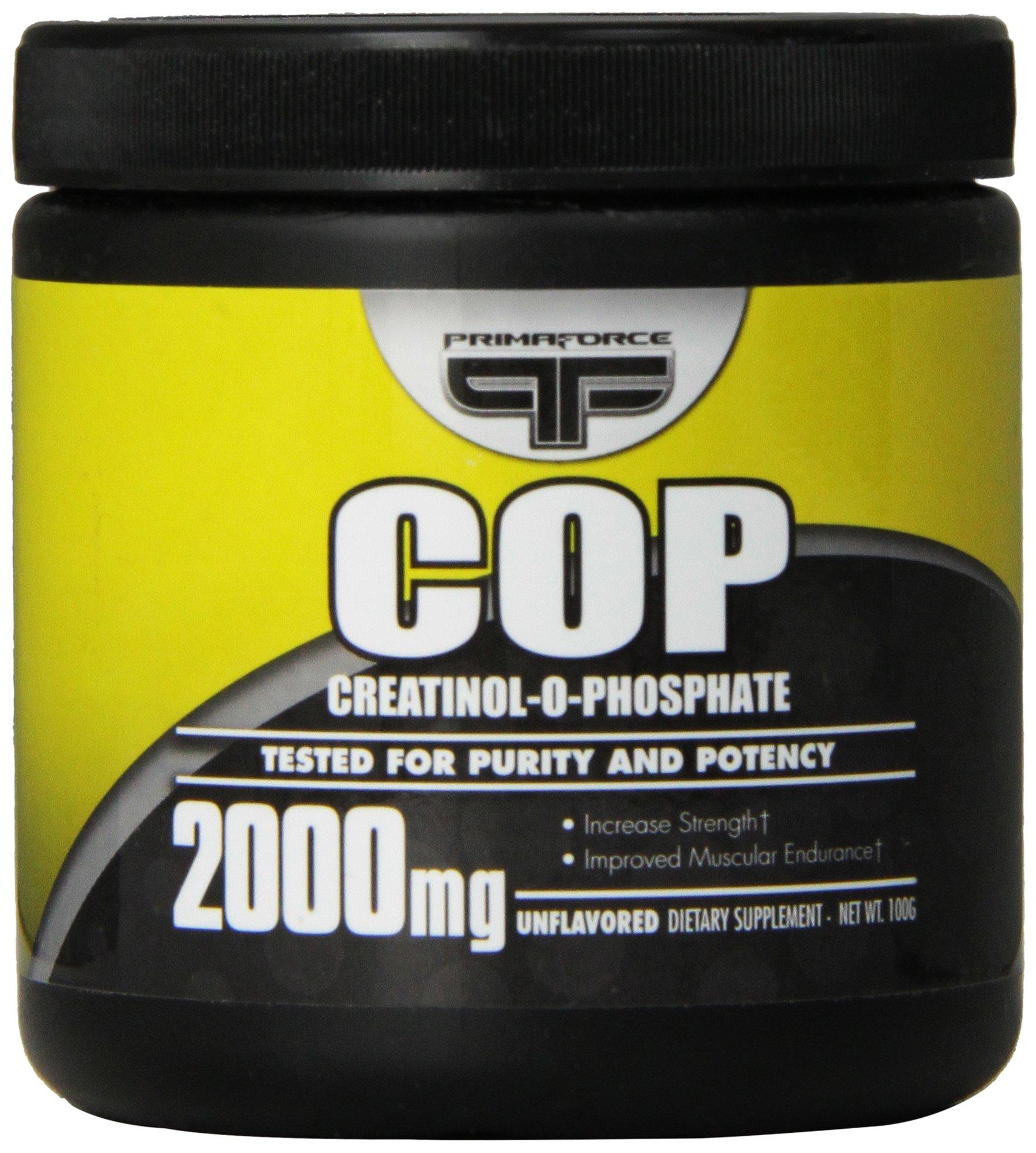 Prima Force Creatinol O Phosphate Nutritional Supplement, 100 Gram