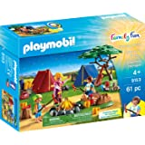 PLAYMOBIL® Camp Site with Fire