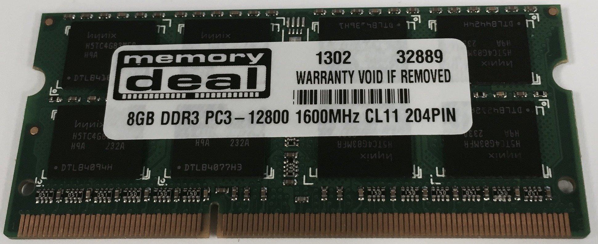 8GB DDR3 Memoria para Toshiba Satellite C870D-10C