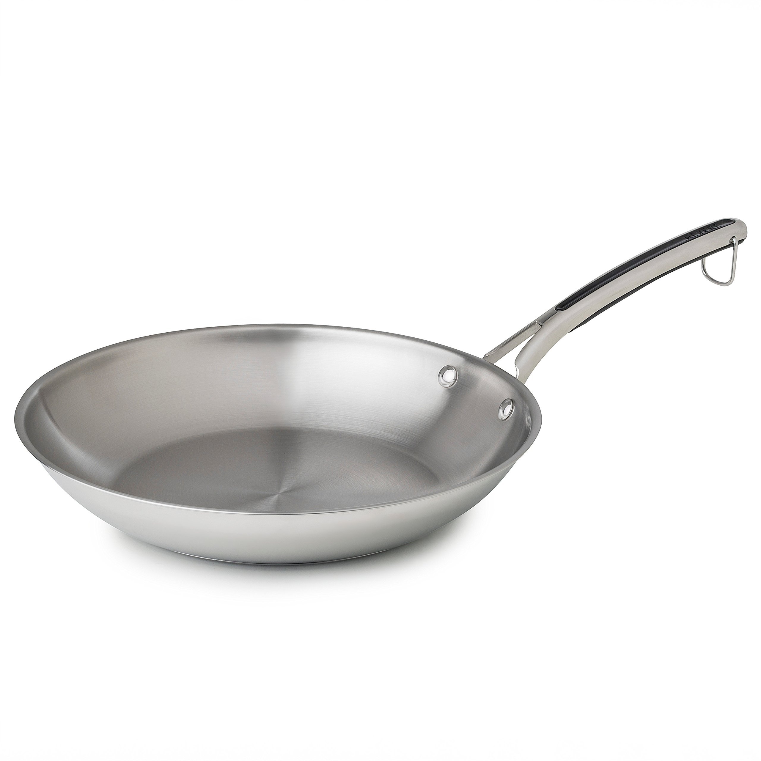 Revere 12'' Fry Pan, One Size, Stainless Steel