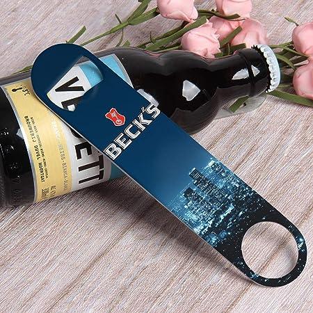 Becks Stainless Steel Bartenders Speed Bottle Opener NEW