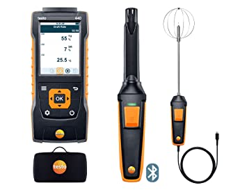 Testo anemometer set amazon elektronik