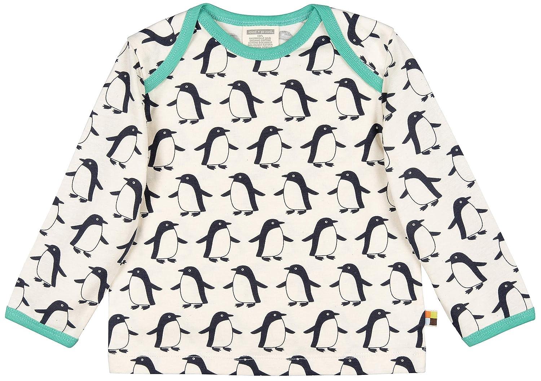 proud Jungen Shirt Druck Aus Bio Baumwolle GOTS Zertifiziert Langarmshirt Herstellergr/ö/ße: 122//128 Blau Midnight Mi 128 loud
