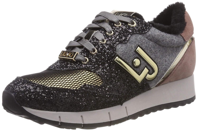 Liu Jo Girls   Gigi Trainers  Amazon.co.uk  Shoes   Bags 4cd97dd1878
