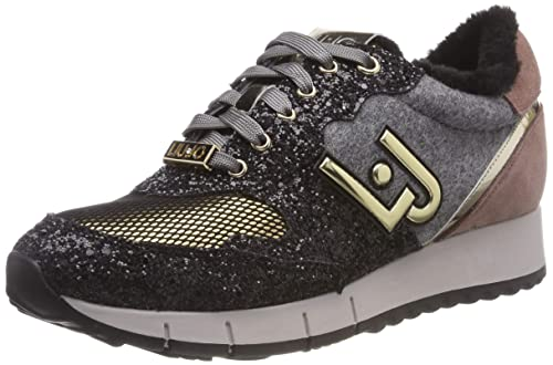 Liu Jo Girls   Gigi Trainers  Amazon.co.uk  Shoes   Bags c2bb4d3895f