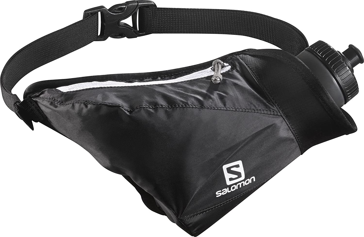 Salomon Hydro 45 Compact Belt Set Black - Cintura, Unisex, Nero, NS L38001200