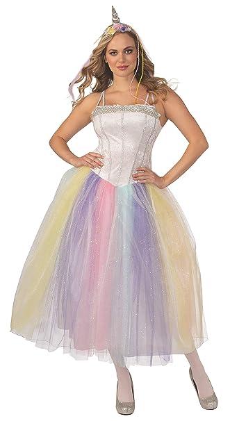 Amazon.com: Disfraz de unicornio para adultos.: Clothing