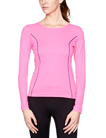 Ronhill Base Thermal Air Women's Long Sleeve Running Top - Medium - Pink