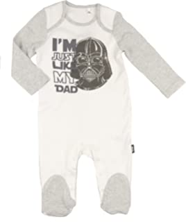Ex Store Baby Unisex Star Wars Babygro Sleepsuit NB to 9-12M Just Like
