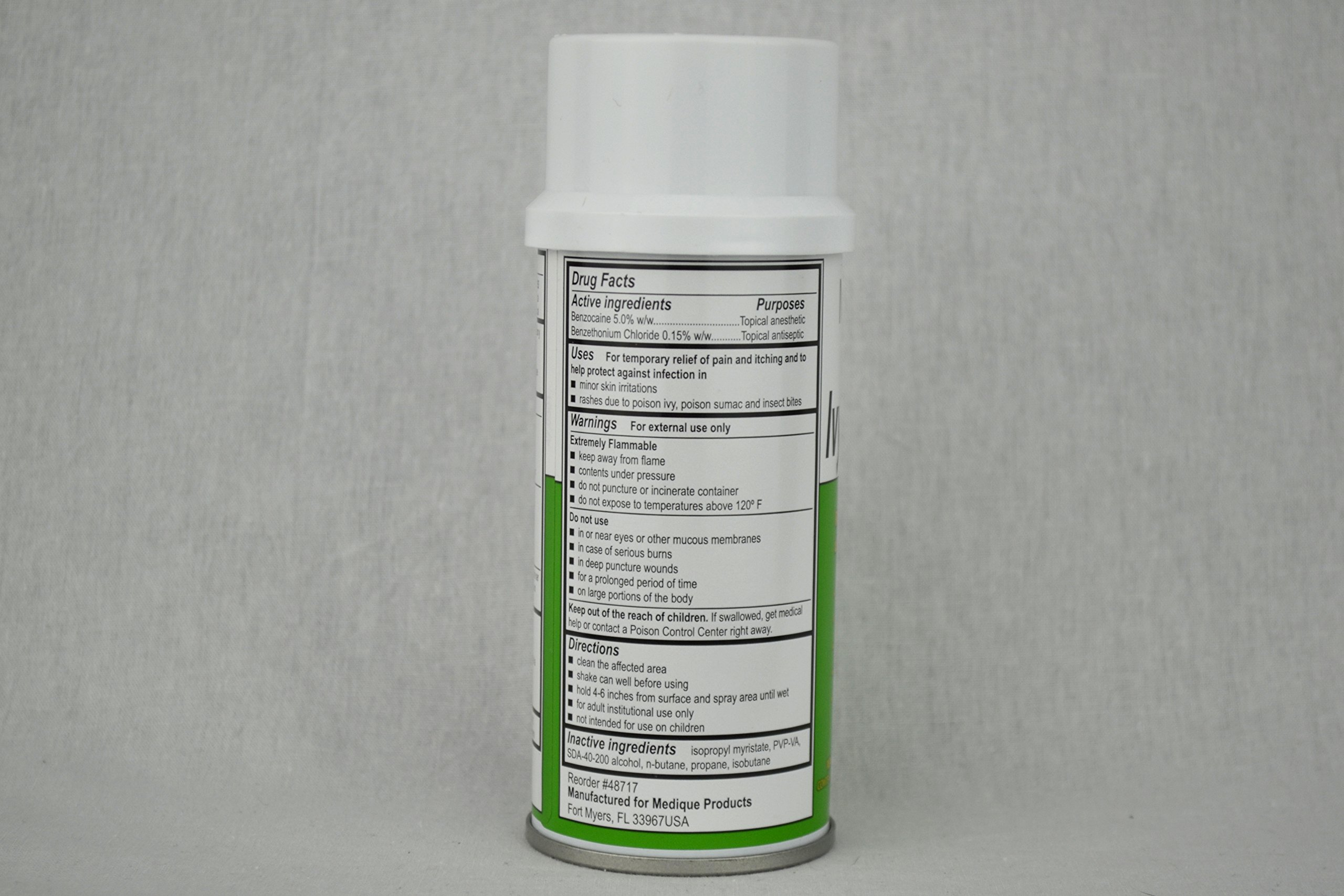 IVY-Rid Relief of Itching and Discomfort 3 oz. Spray 6 Each by Medique - MS60255