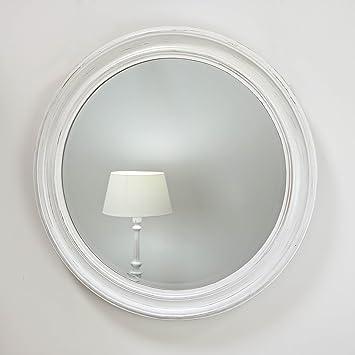 William Wood Designs Ltd Rebecca Vintage White \'Shabby Chic\' Round ...