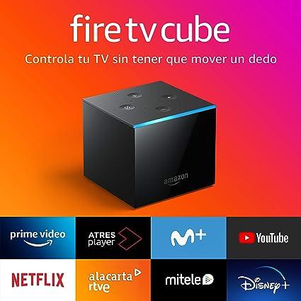 Presentamos Fire TV Cube | Reproductor multimedia en streaming con control por voz a través de Alexa y Ultra HD 4K: Amazon.es