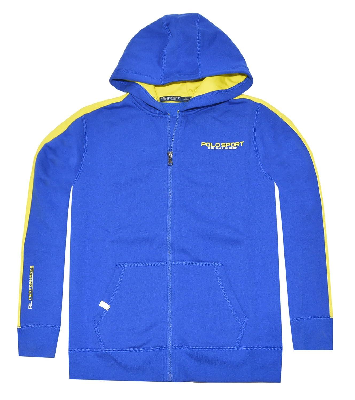 7127c5131 Amazon.com  Polo Sport Ralph Lauren Boys Fleece Full-Zip Hoodie  Clothing