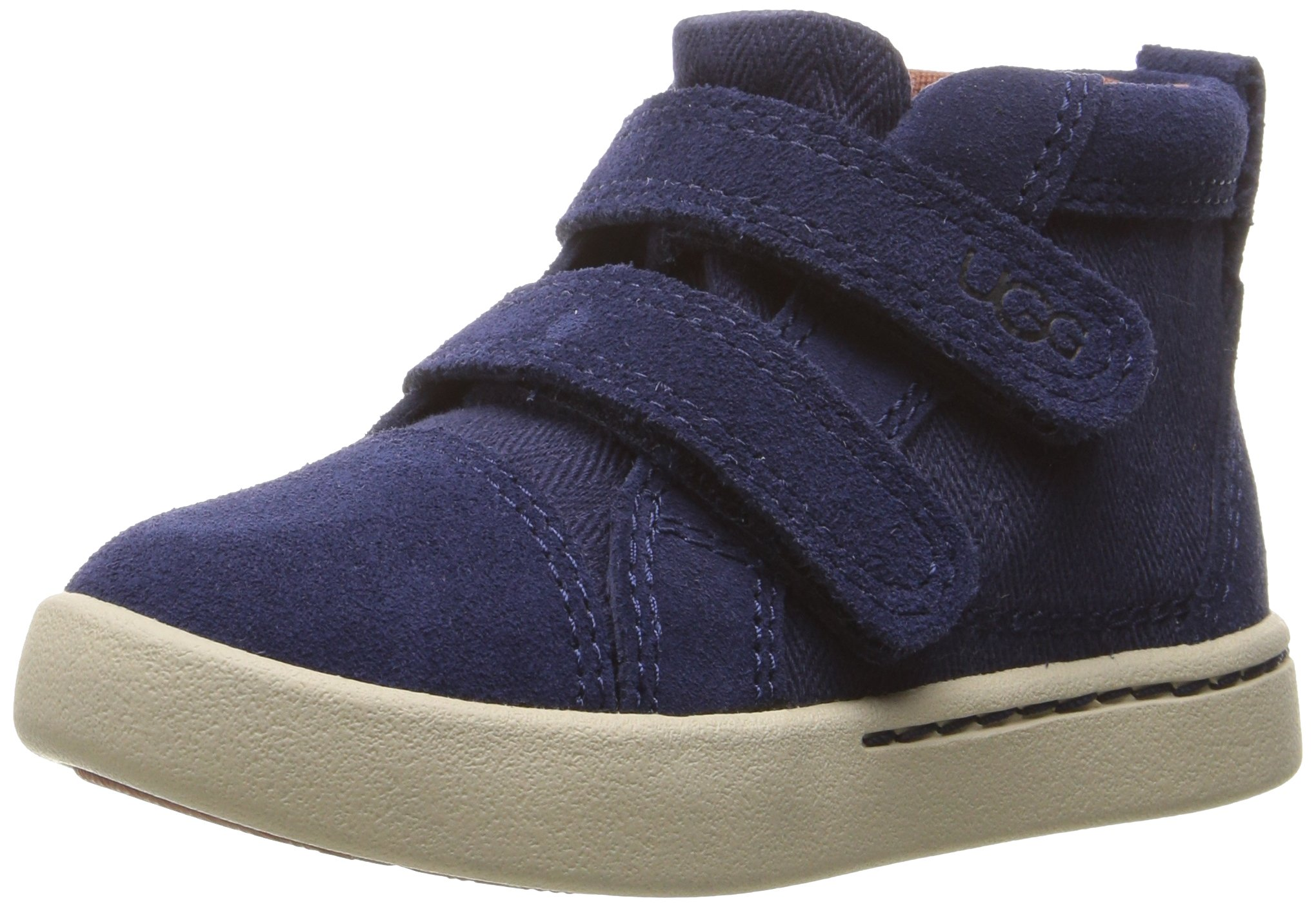 UGG Kids T Rennon Herringbone Sneaker, Peacoat, 11 M US Little Kid