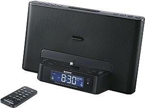 Sony ICFCS15IPN Lightning iPhone/iPod Clock Radio Speaker Dock (Black) (Discontinued by Manufacturer)