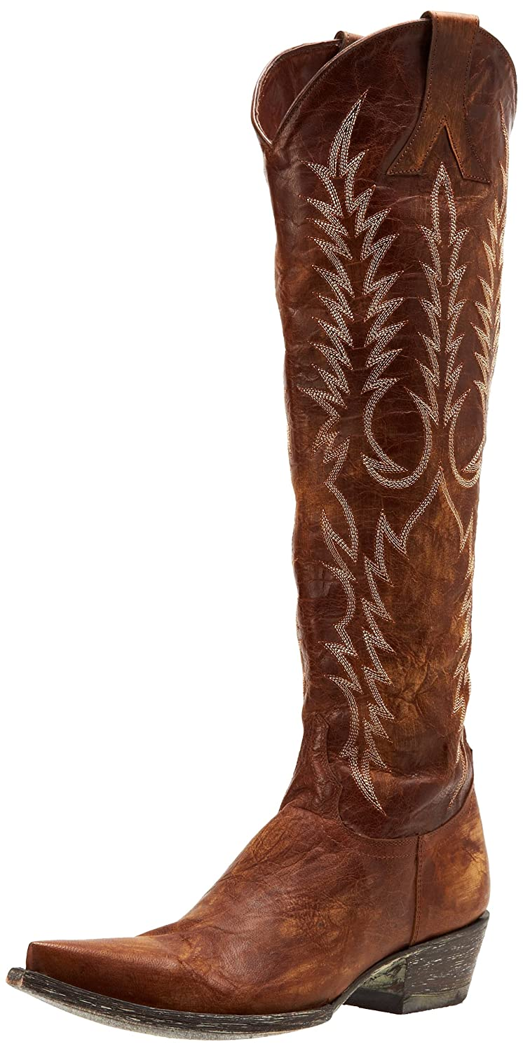 Old Gringo Women's Mayra Boot B0059NPLUW 5 B(M) US|Vesuvio Brass
