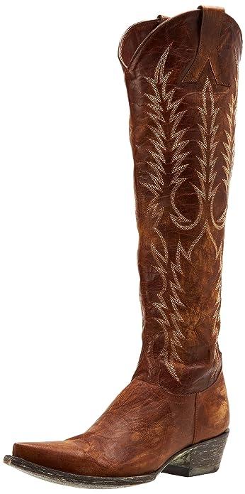 f4e6e88ed2e Amazon.com | Old Gringo Women's Mayra Boot | Knee-High