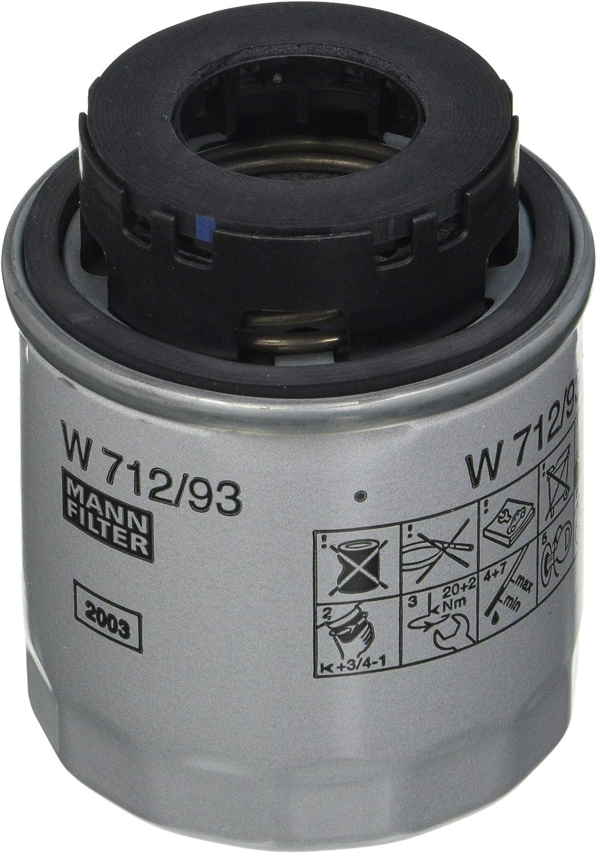 Original Mann Filter Ölfilter W 712 93 Für Pkw Auto
