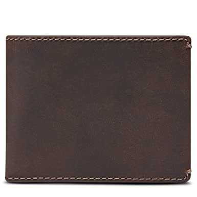 1a09f23dac0a HOJ Co. Men s BIFOLD Wallet-Divided Bill Compartment-Oil Tanned ...