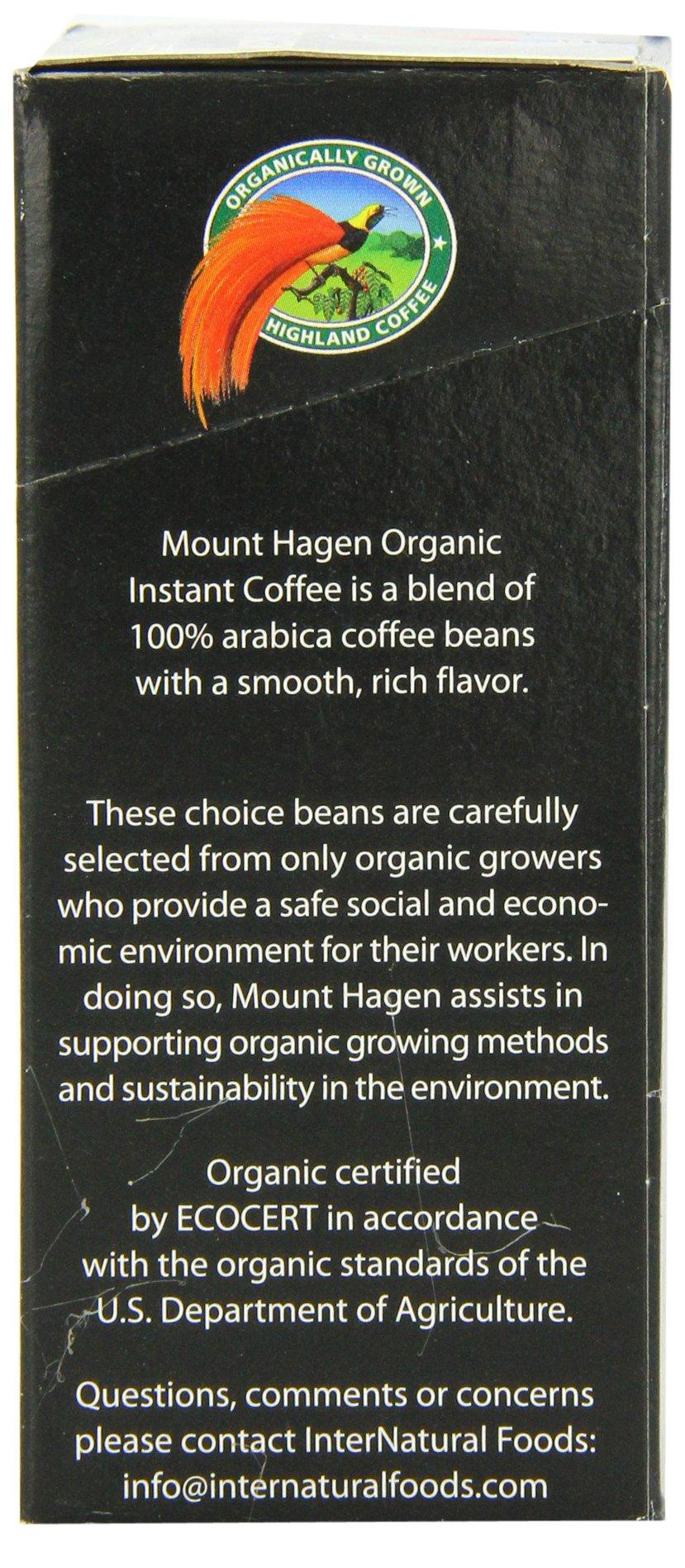 Mount Hagen Organic Instant Regular Coffee, 25-Count Single Serve packets (Pack of 4) by Mount Hagen (Image #2)
